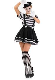 Black White Striped Halloween Costume 185 Fantasias Images Costumes Costume