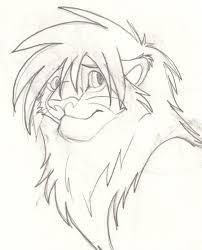 cute lion sketch by bosleyboz on deviantart