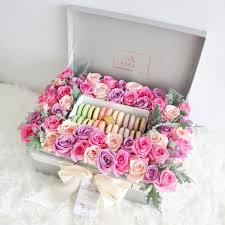 velvet bloom box by amarante flower boutique bridestory com