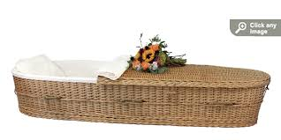 wicker casket willow casket passages international