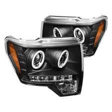 2012 ford f150 projector headlights 2012 ford f 150 custom projector headlights carid com