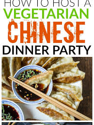 Large Party Dinner Ideas - snazzy looking also your next dinner lovese vegetarian chinese