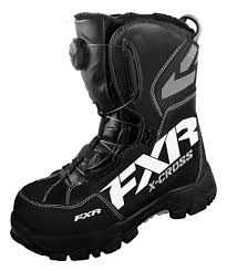 motorcycle shoes mens fxr x cross boa boot revzilla