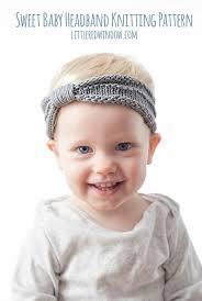 knit headbands baby knit headband knitting pattern knit baby headband