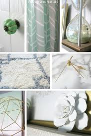 marble and gold office room reveal making manzanita