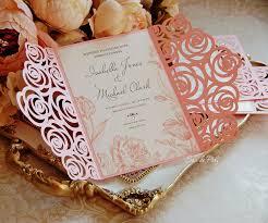 Luxury Wedding Invitation Cards Roses Wedding Luxury Card Template Cutting File C113 Svg