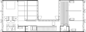 schroder house floor plan wolf residence servant and served spaces