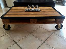 Table Basse Verre Roulette Industrielle by Table Basse Rangement Table Basse Contemporaine En Bois Avec