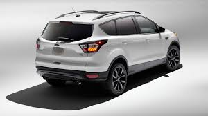 Ford Escape Black - 2017 ford escape receives sport appearance pack