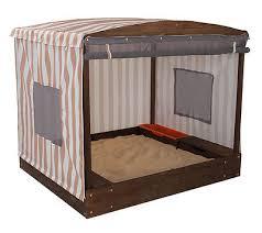 Backyard Sand Cabana Sandbox Backyard Sand Box Shade Yard Cover Kids Outdoor