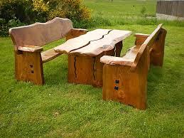 rustic wooden garden furniture farmhouse furniture