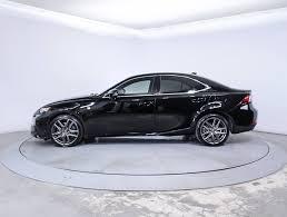 certified lexus is350 sale used 2014 lexus is 350 f sport sedan for sale in miami fl 85502