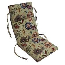 Highback Patio Chair Cushions Patio Rocking Chair Covers Patio Decoration