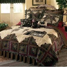 Cabin Bed Sets Log Cabin Bedding Sets Lake Cabin Bedding Tea Cabin Quilted