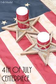 Fourth Of July Tablecloths by Diy 4th Of July Decorations Centerpieces Crafts Unleashed
