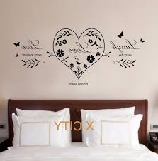live laugh quote creative wall sticker removable
