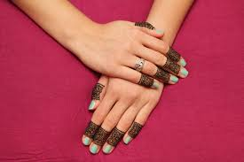 fingers mehndi designs images pictures