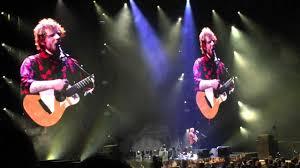 ed sheeran xcel ed sheeran concert xcel energy center st paul mn youtube