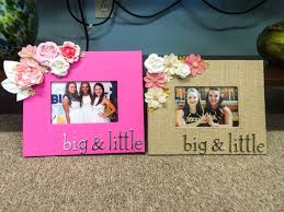 sorority picture frames best 25 sorority gifts ideas on big