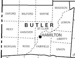 plat maps 1836 butler co ohio plat maps kowallek family on the web