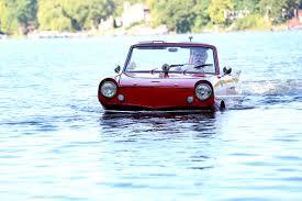 amphibious car it u0027s a car no it u0027s a boat no it u0027s both wsj