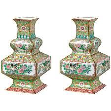 Enamel Vase Pair Of Qing Dynasty Cloisonné Enamel Vases For Sale At 1stdibs