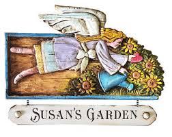 Personalized Garden Decor Personalized Garden Etsy