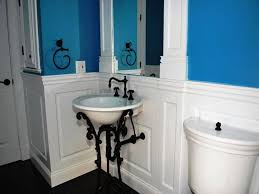 wainscoting bathroom ideas pictures cool bathroom wainscoting panels images design inspiration amys