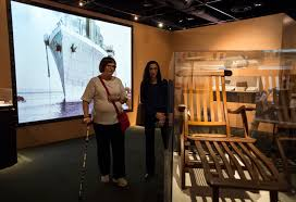 Titanic Deck Chair Plans Free by Submarine That Found Titanic Vietnam U0027huey U0027 Chopper Join Exhibits