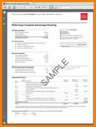Wells Fargo Invitation Only Credit Card 9 Wells Fargo Bank Statements Science Resume
