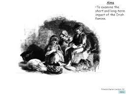ireland lessons 9 12 the irish famine powerpoint presentations