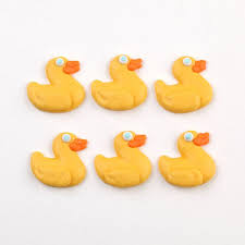 Rubber Duckie Royal Icing Decorations – Caljava line