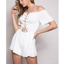 white rompers and jumpsuits rompers jumpsuits sets figleaf boutique