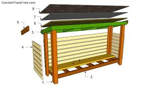 firewood shed plans free free garden plans how to build garden