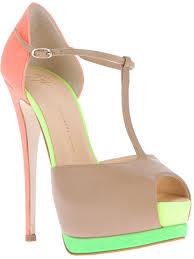 shoeniverse giuseppe zanotti multicolor tango sandal