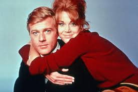 when did robert redford get red hair jane fonda fell in love with robert redford on their early movie