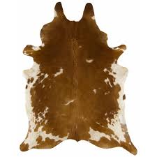 the cowhide rug brown white view this rug at barker u0026 stonehouse