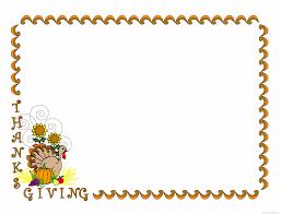 thanksgiving turkey clip borders clip library