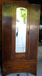 Bedroom Armoire by Bedroom Armoire With Shelves Antique Mirror Wardrobe U2013 Blackcrow Us
