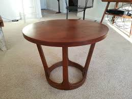 modern round end table mid century modern end tables modern furniture house design mid