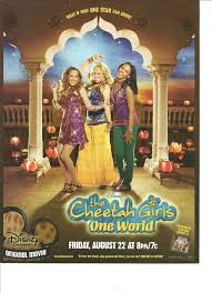 the cheetah girls one world full page movie promo ad tv movie