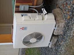 mitsubishi ductless ceiling mount heating with a minisplit heat pump greenbuildingadvisor com