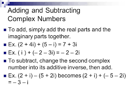 lesson 5 6 complex numbers recall remember when we simplified