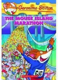 the mouse island marathon by geronimo stilton scholastic