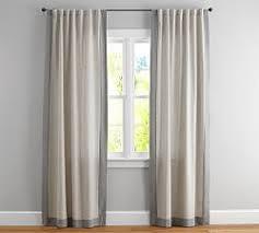 Light Linen Curtains Linen Curtains U0026 Linen Drapes Pottery Barn