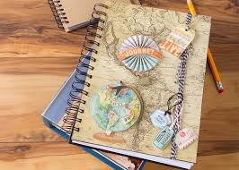 Ohio travel diary images Scrapbook paper covered trip diary craft ideas jpg
