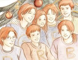 Weasleyovské svetry v akci