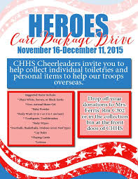 care packages for soldiers colleyville heritage hs