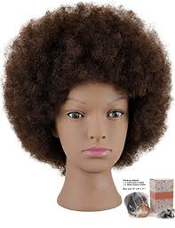 hairstyles to do on manikin amazon com mannequin head african american with 100 human hair