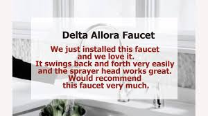 Kitchen Faucet Cheap by Cheap Kitchen Faucets Delta 989 Dst Allora Single Handle Pull Down